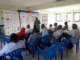 Training farmers on how to make profitable balanced feed using feedcalculator